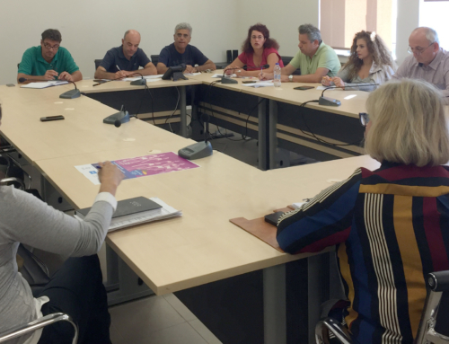 Συνάντηση εργασίας στο Δήμο Καλαμάτας, 9/10/2019